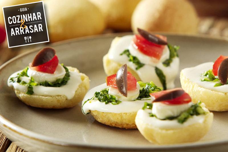 Cozinhar & Arrasar - Petiscos de pão de queijo
