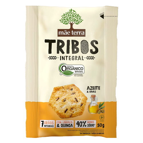 Snack Tribos Azeite e Ervas