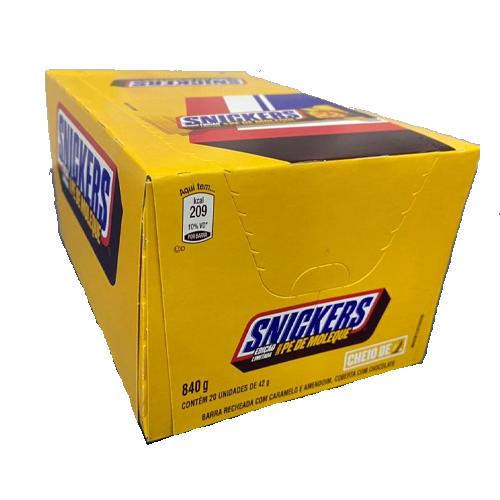 Snickers Pé de Moleque