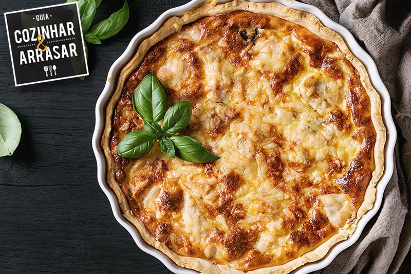 Cozinhar & Arrasar - Quiche de Alho Poró