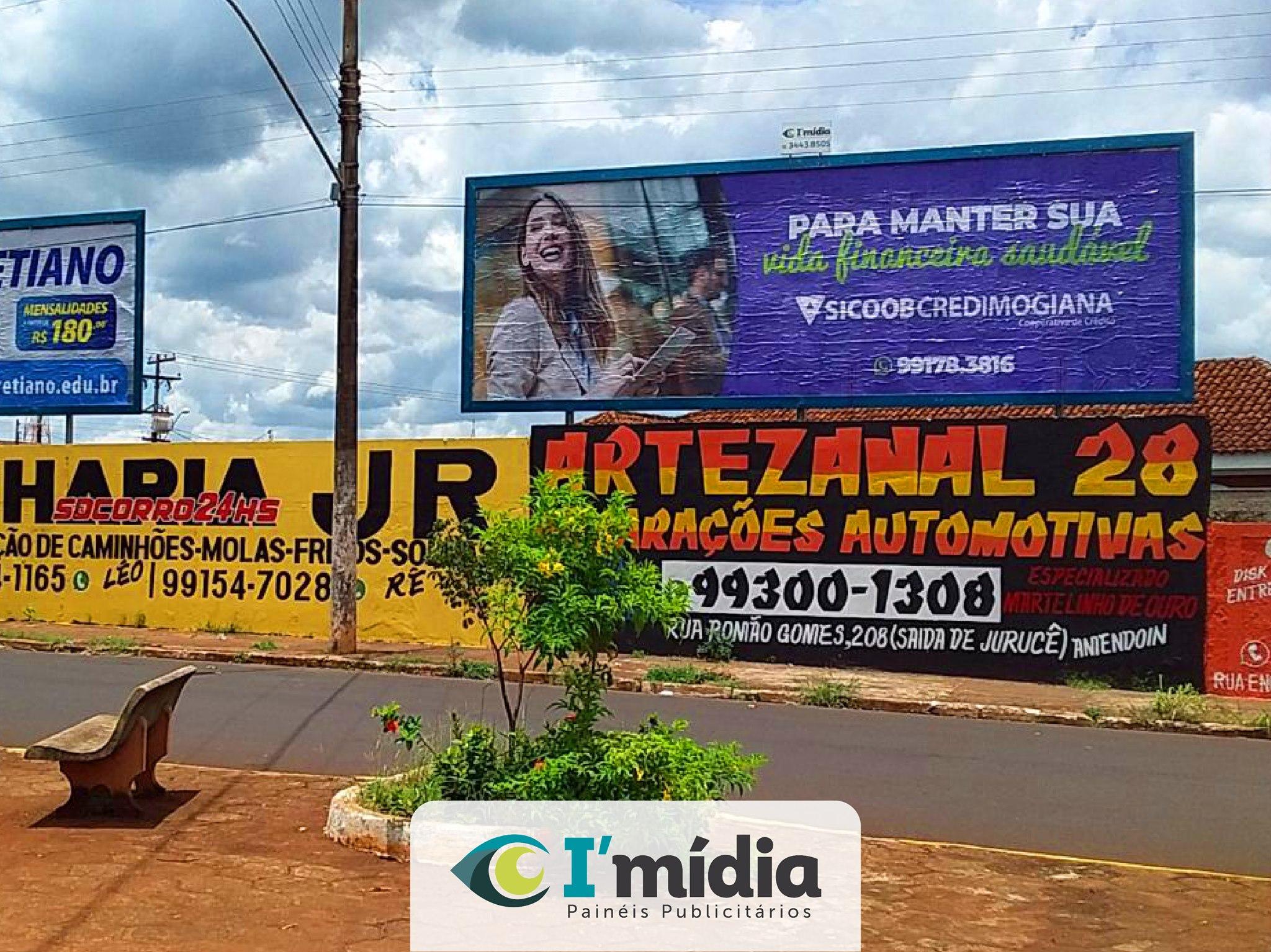 👉 Divulgue sua empresa na melhor cobertura do litoral e interior paulista com a I'Mídia Painéis.