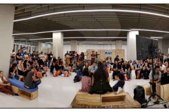 O encontro de desenvolvedores de aplicativos incríveis