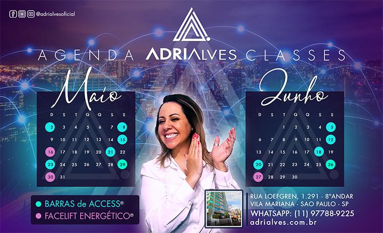 Barras de Access Consciousness com Adri Alves - Agenda
