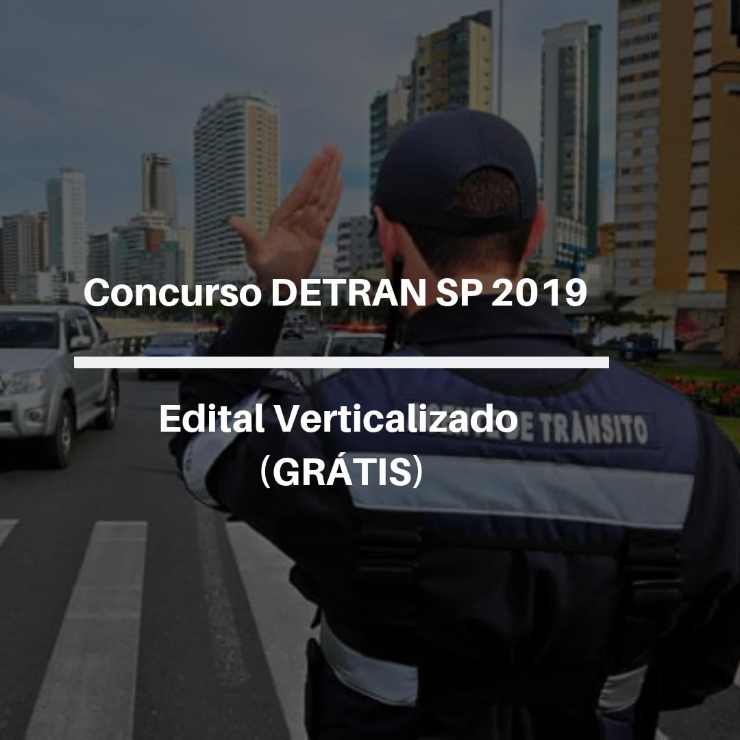 Edital Verticalizado Detran 2019