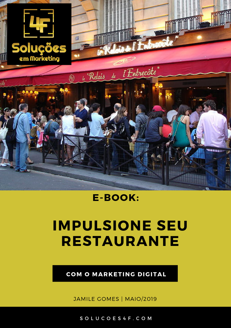 e-book marketing para restaurantes