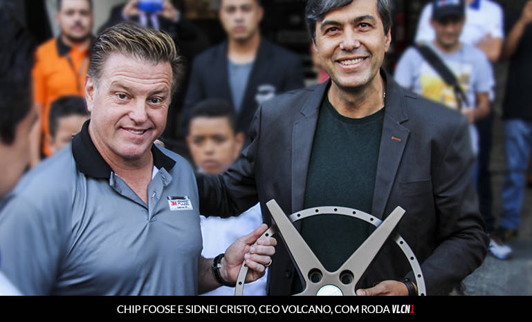 CHIP FOOSE E SIDINEI CRISTO, DIRETOR DA VOLCANO WHEELS