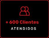 600+ clientes