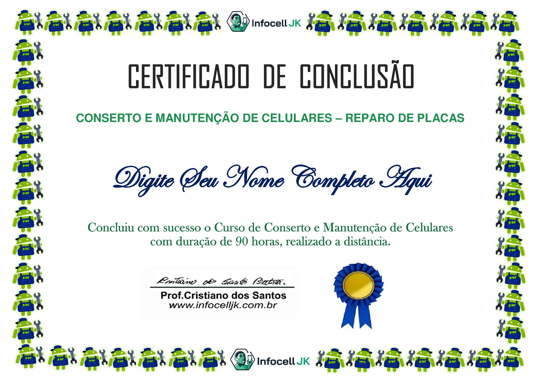 Certificado Curso Online