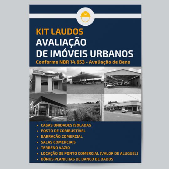 KIT Laudos Avaliação de Imóvel Urbano