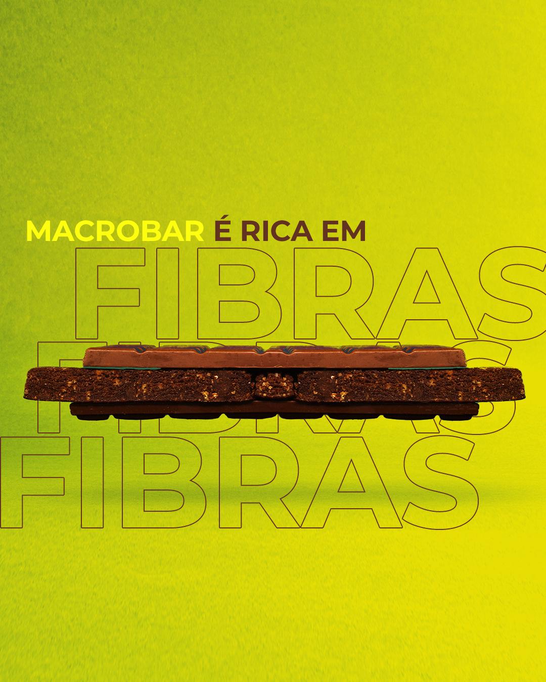 Macrobar é Rica em Fibra