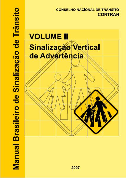 Manual Sinalização Regulamentação