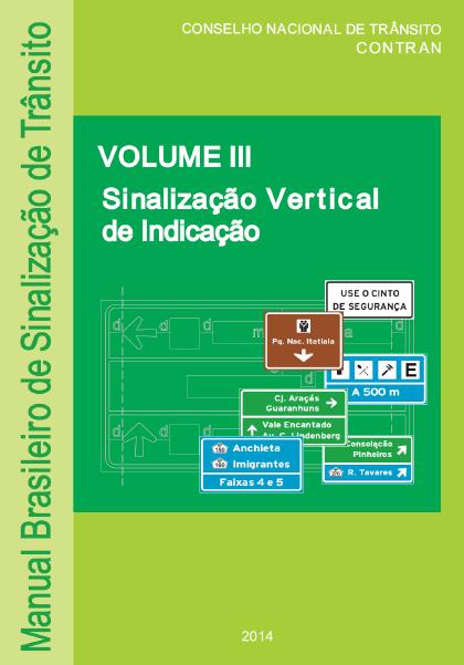 Manual Sinalização Indicativa