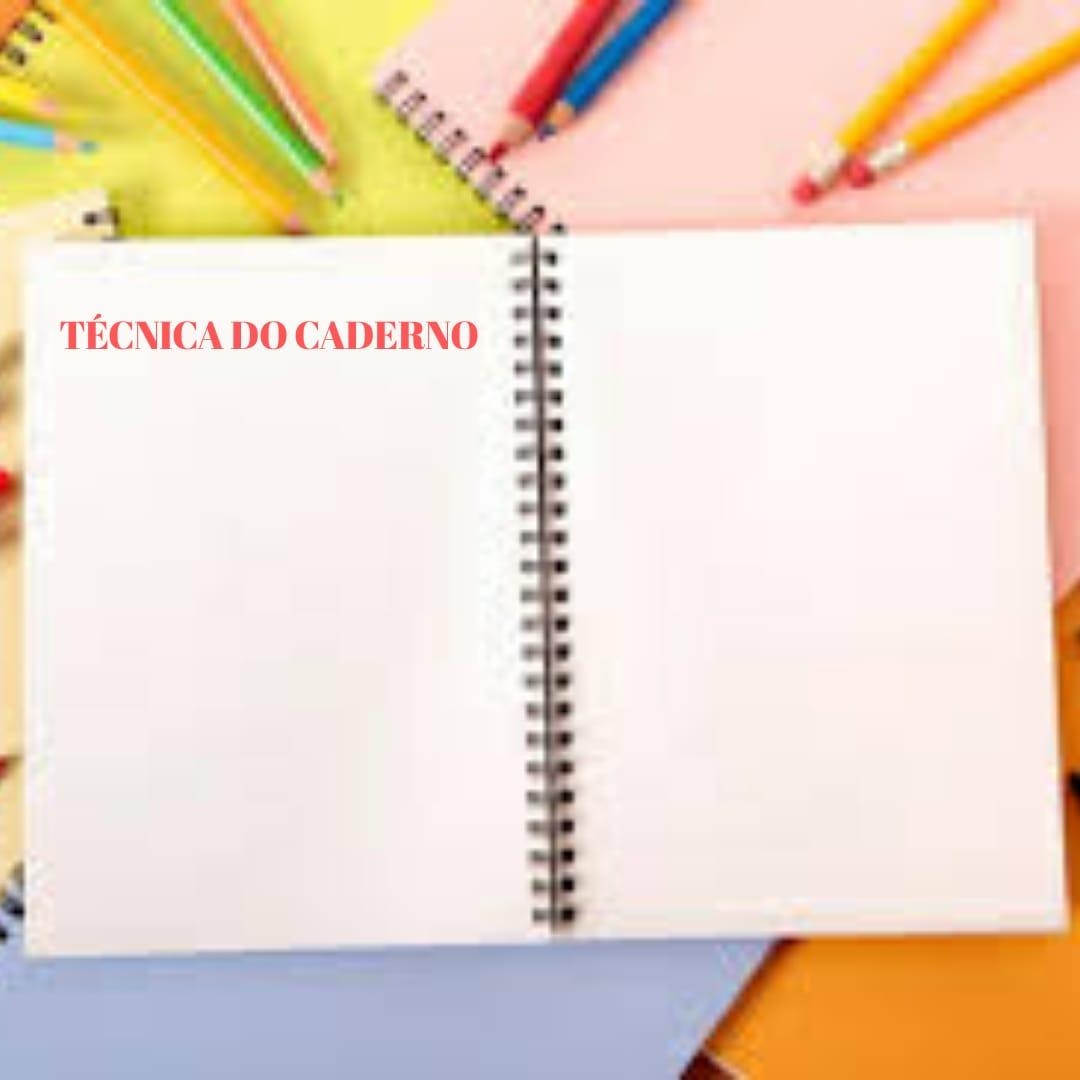 tecnica do caderno
