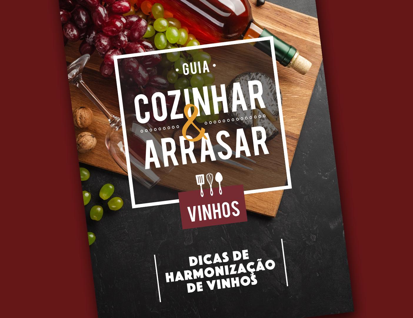 Guia Cozinhar & Arrasar - VINHOS