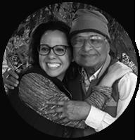 Adri Alves e Amit Goswami