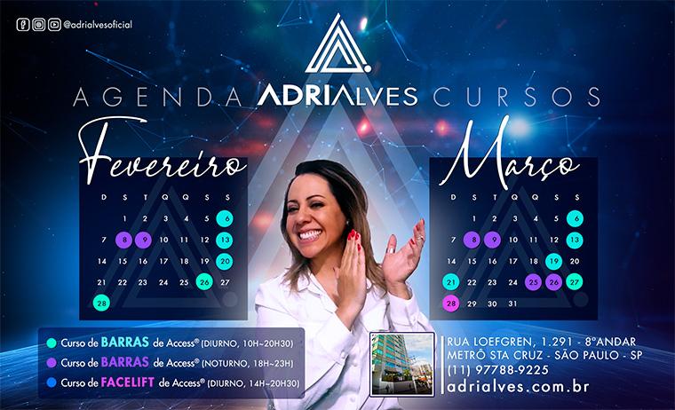 Curso de FACELIFT de Access Consciousness com Adri Alves - Agenda