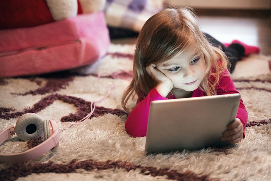 Excesso de tecnologia em crianças