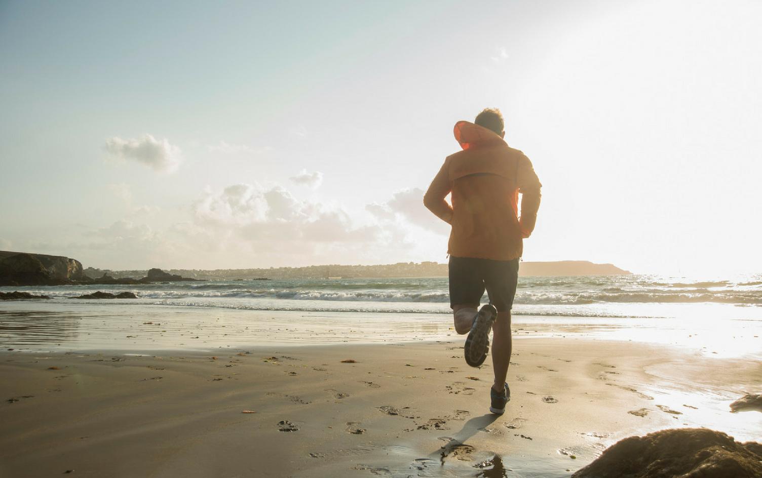 treinar corrida na areia