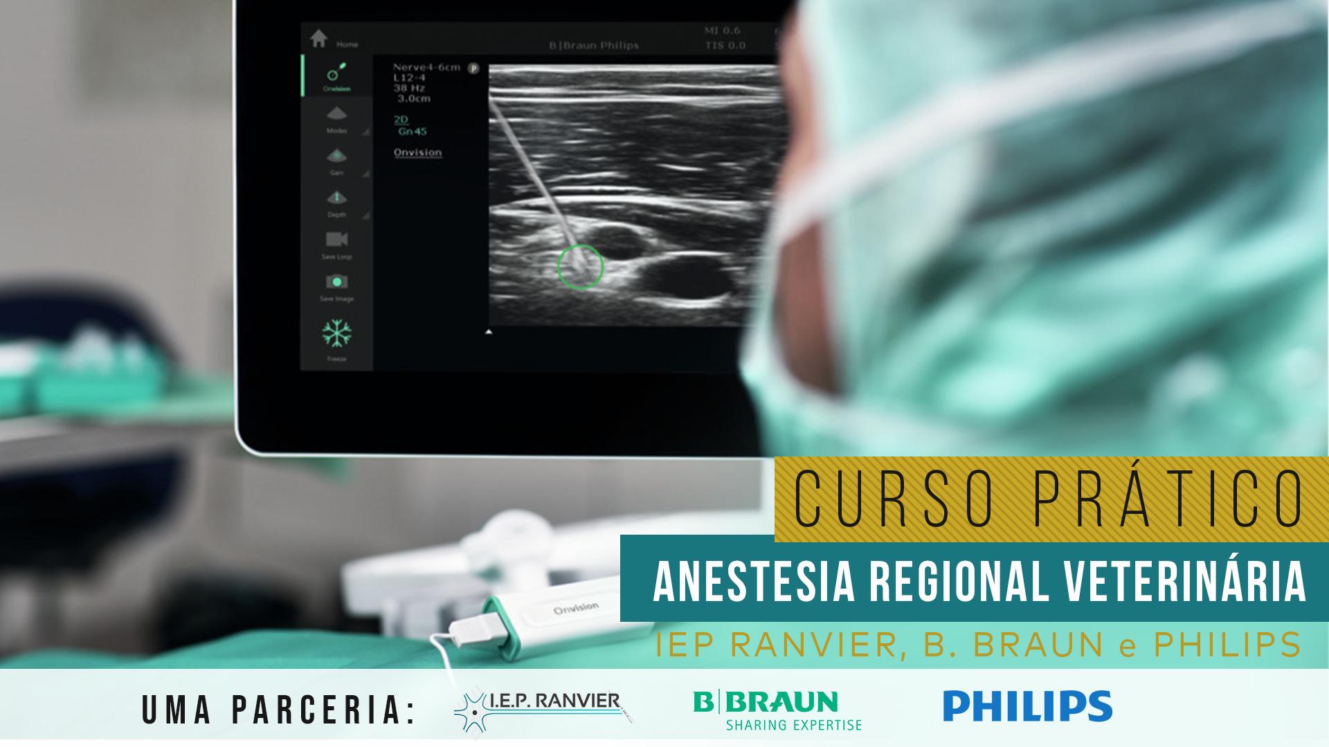 Curso Prático de Imersão em Anestesia Regional Veterinária