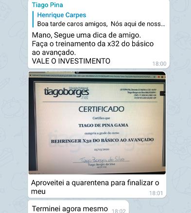 Depoimento Tiago Pina
