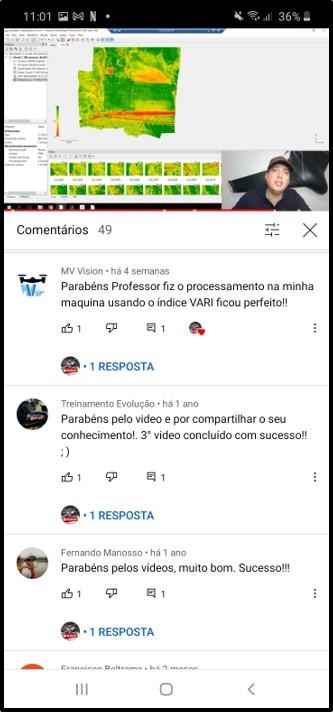 Depoimento Youtube