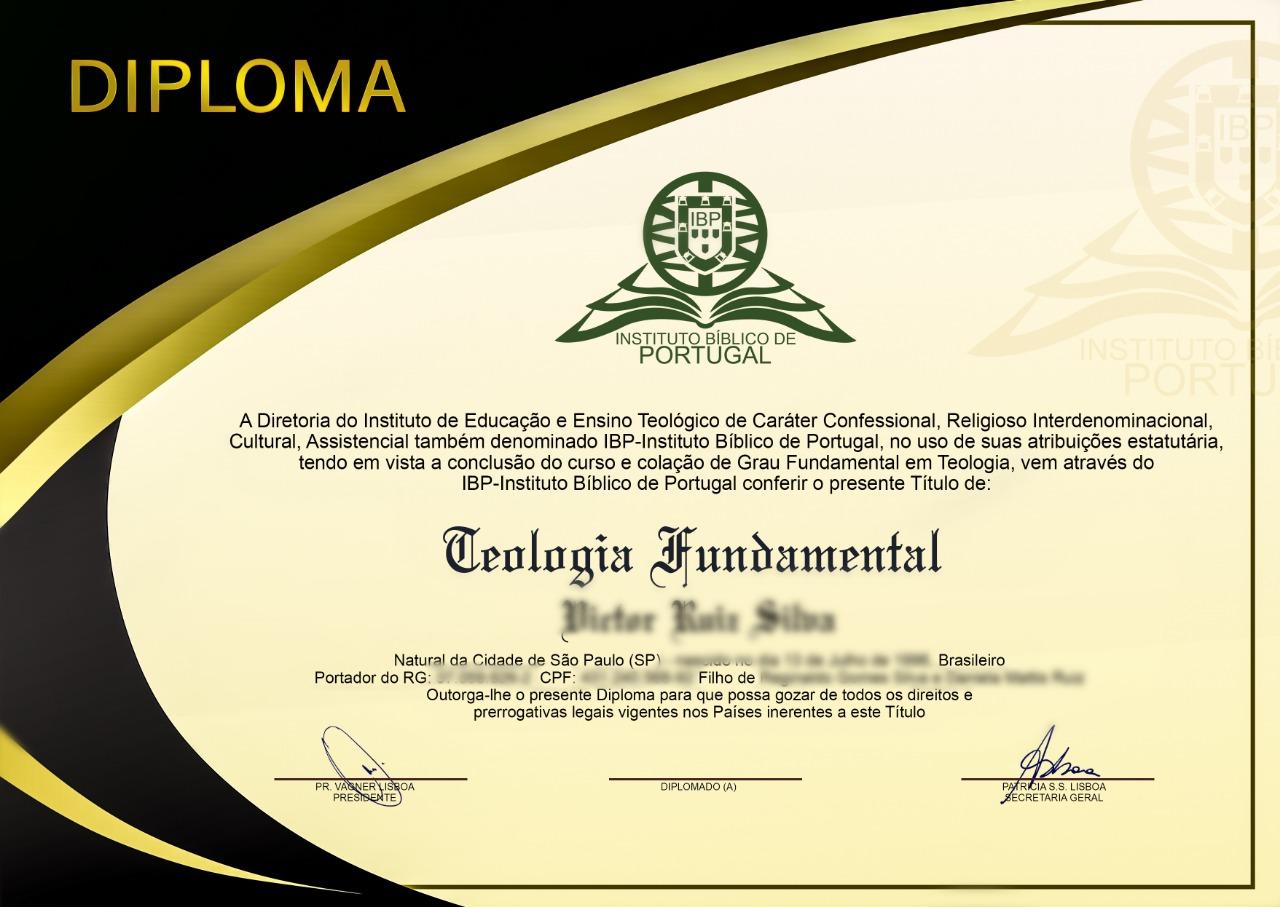 Certificado Ebook Tsade