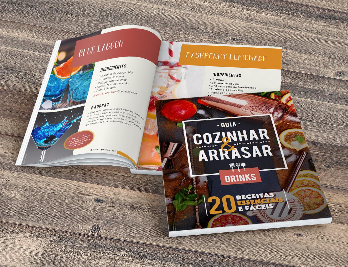 Guia Cozinhar & Arrasar - DRINKS