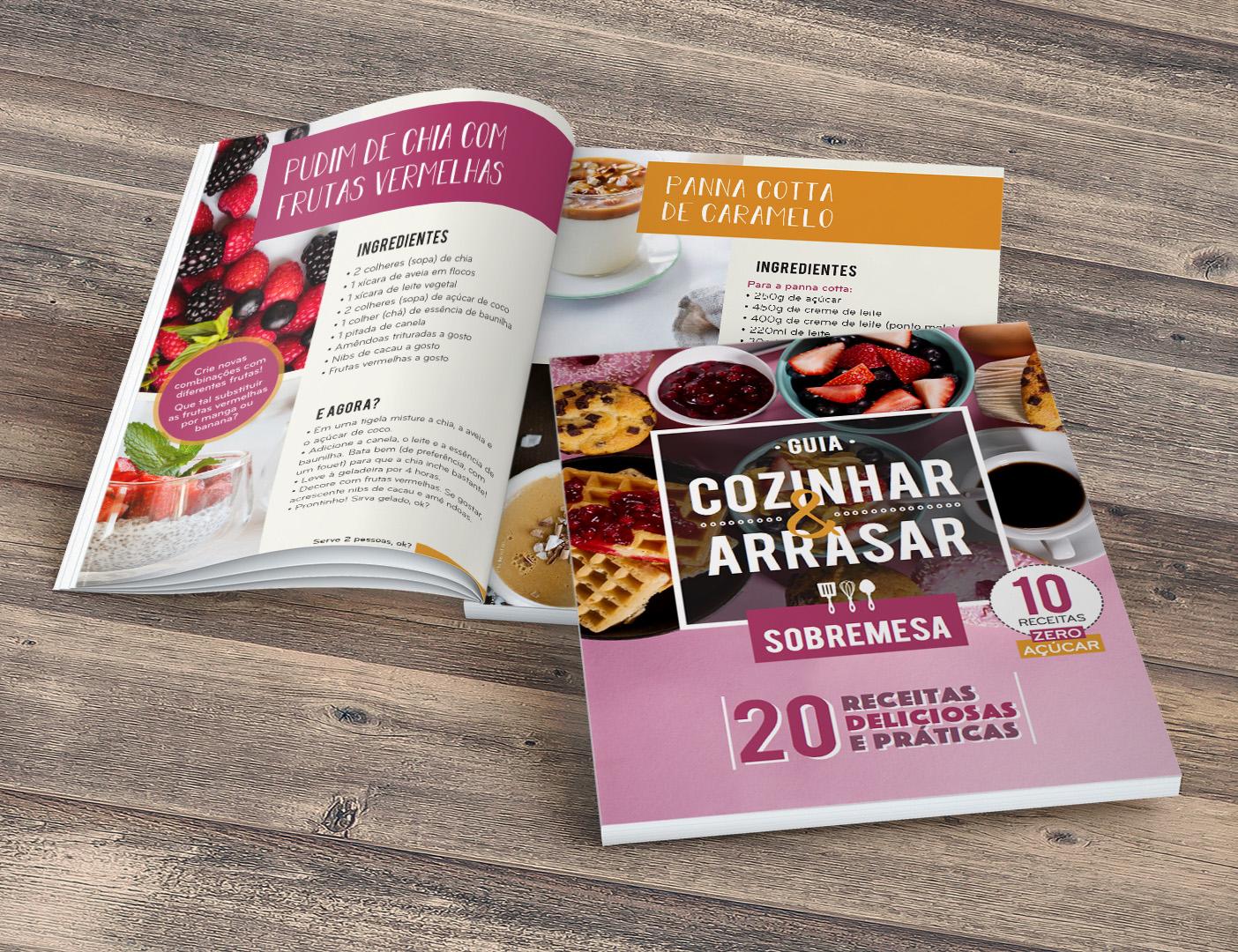 Guia Cozinhar & Arrasar - SOBREMESAS
