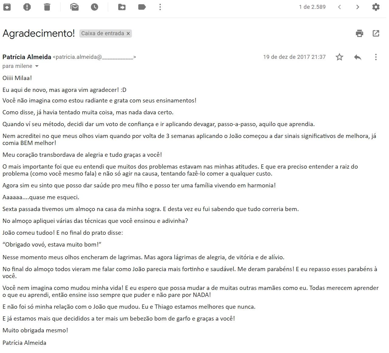Carta Patrícia