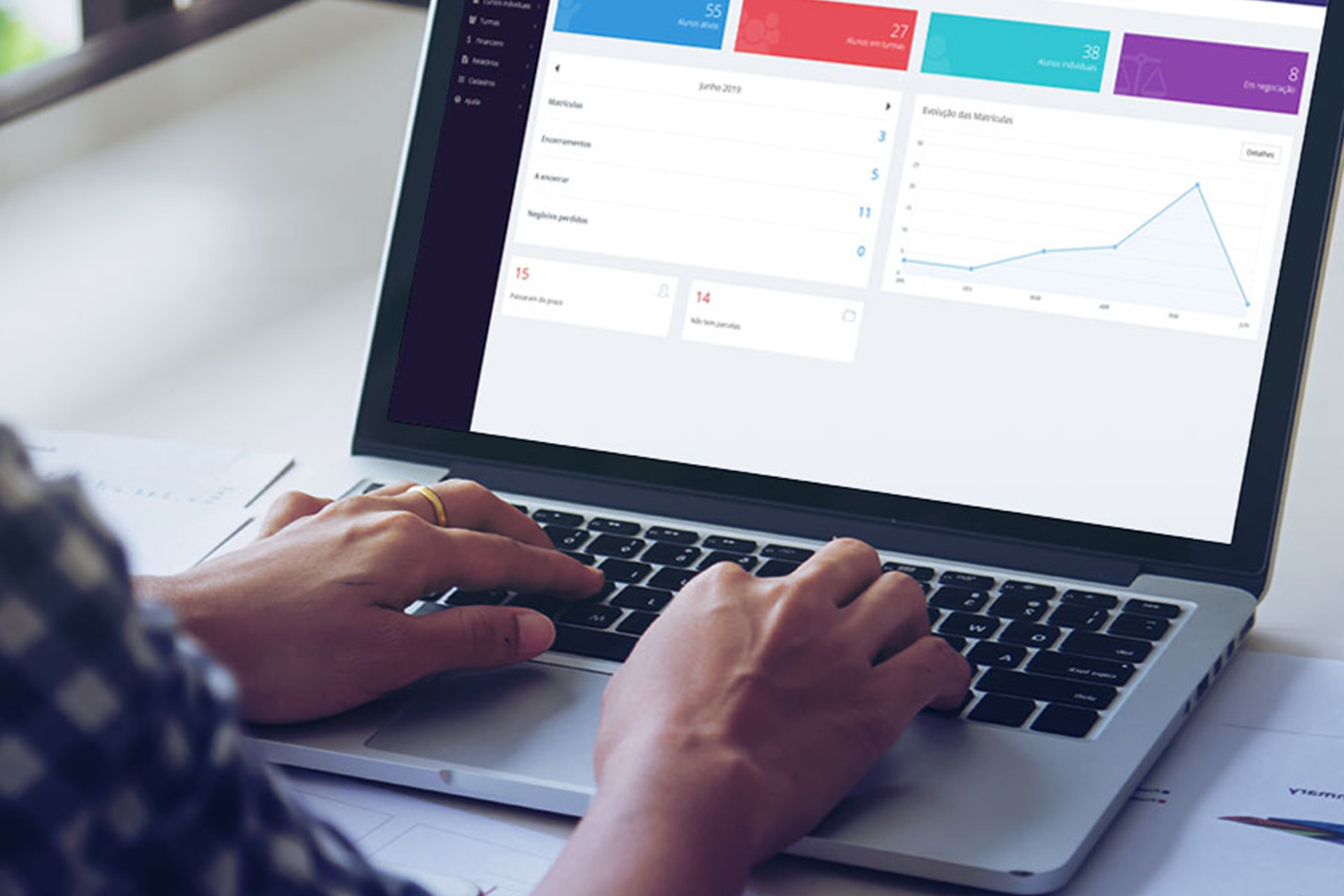 Plataforma de gestão completa