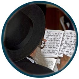 estudante do hebraico