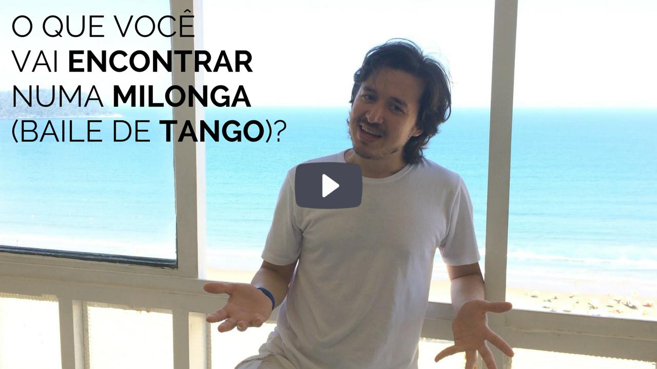 O que você vai encontrar numa milonga (baile de tango)?
