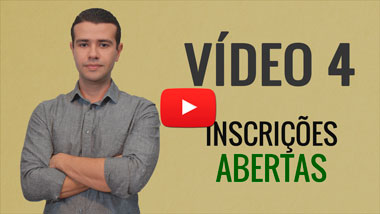 video 4 inscrições abertas