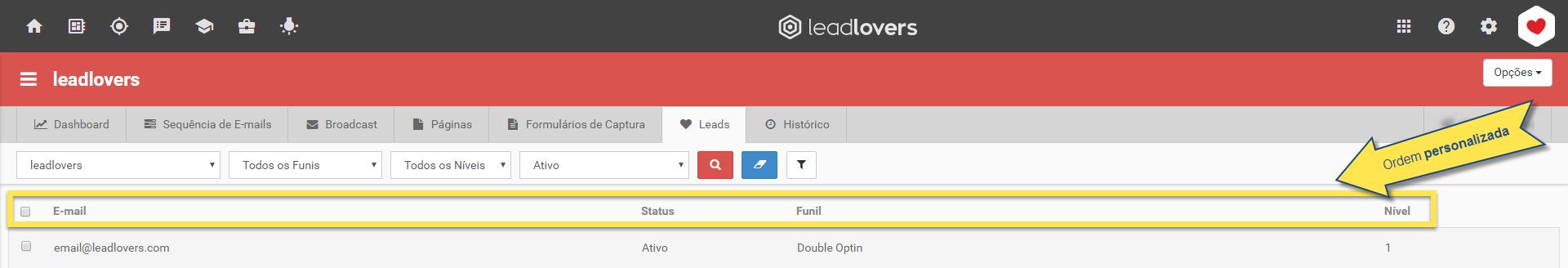 lista de leads