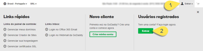 Como configurar Domínio ou Subdomínio na GoDaddy