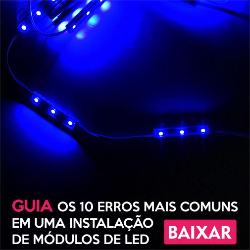 10 Errros Módulos de LED