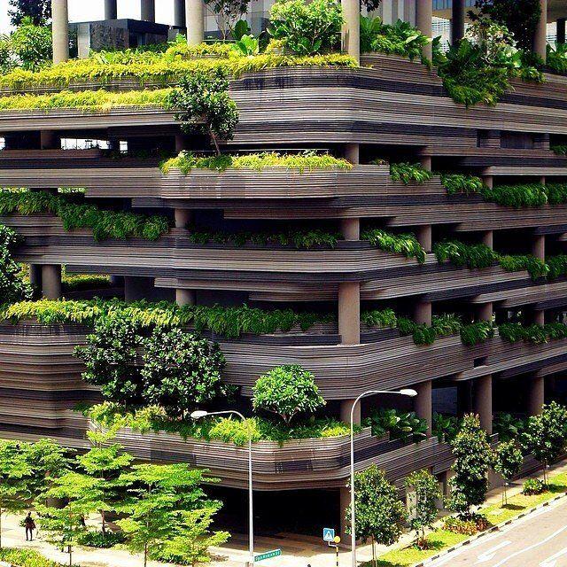 Telhado Verde Park Royal - Singapura