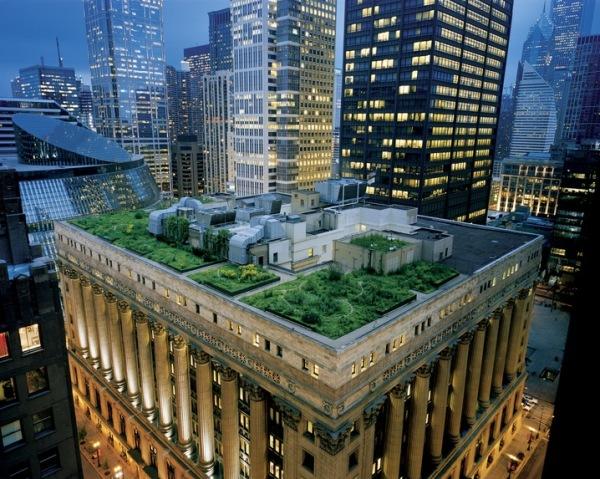 Telhado Verde City Hall - Chicago