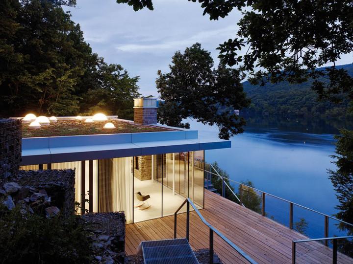 Telhado Verde Casa no Lago - Alemanha