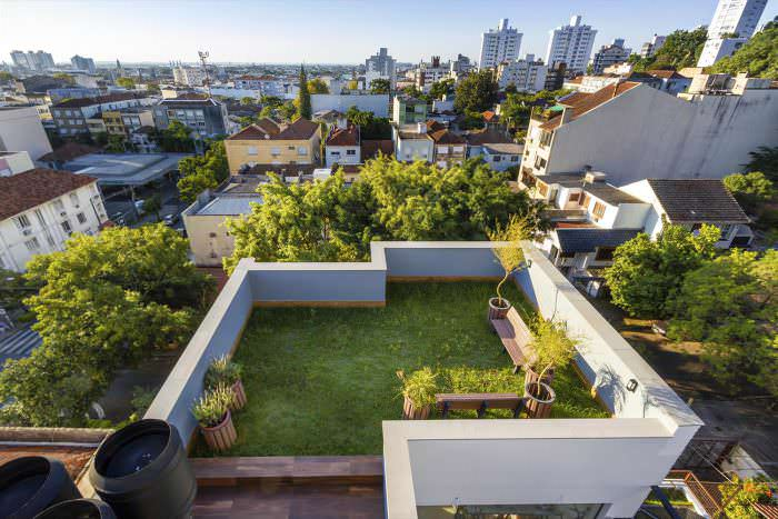 Telhado Verde Casa América - Porto Alegre