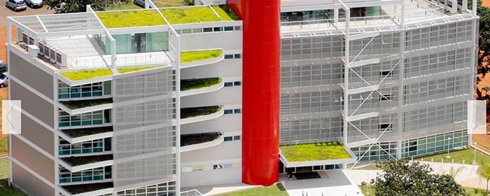 Telhado Verde Fórum do Meio Ambiente da Fazenda Pública - Brasília