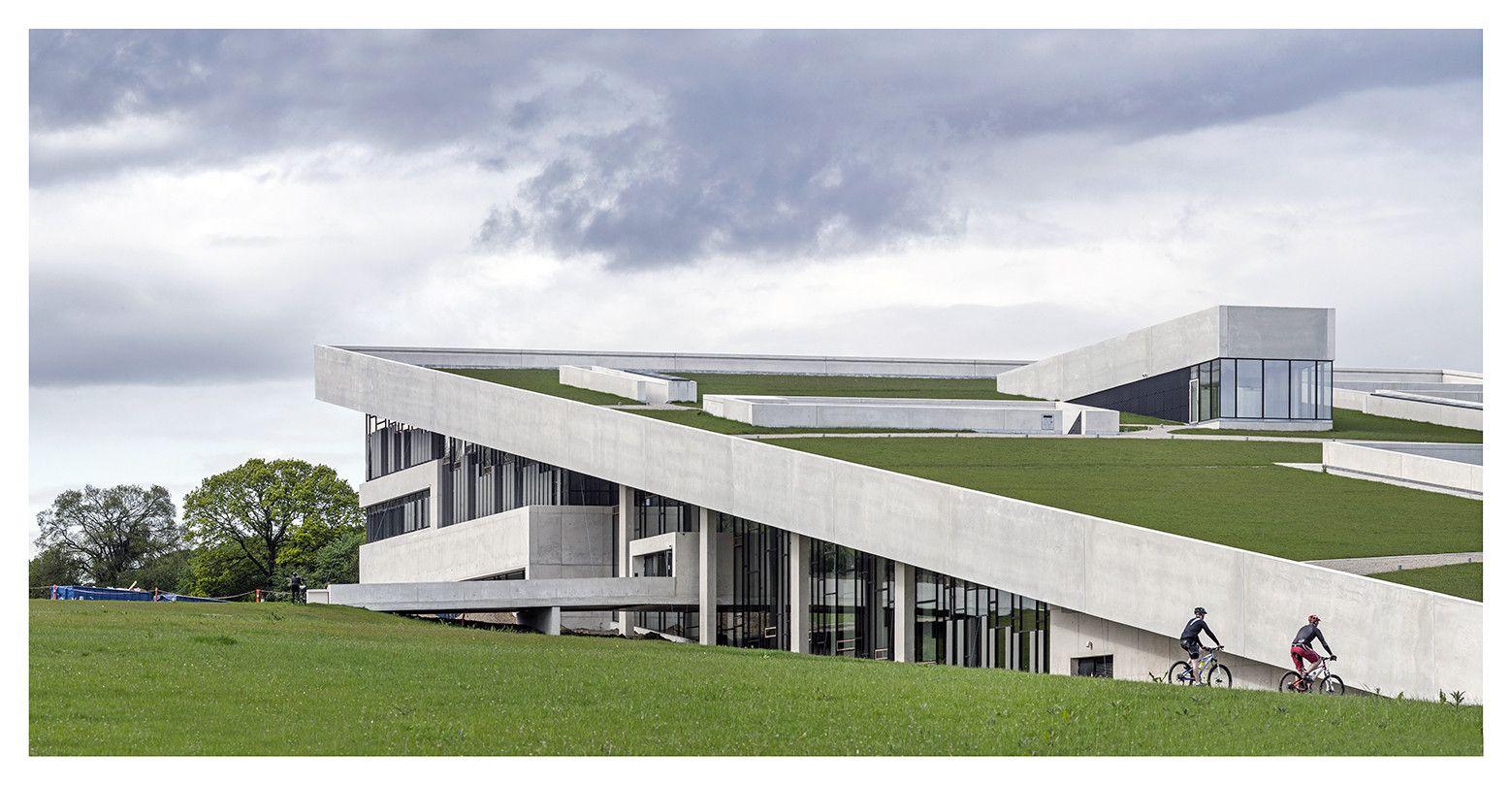 Telhado Verde Museu Moesgaard - Dinamarca