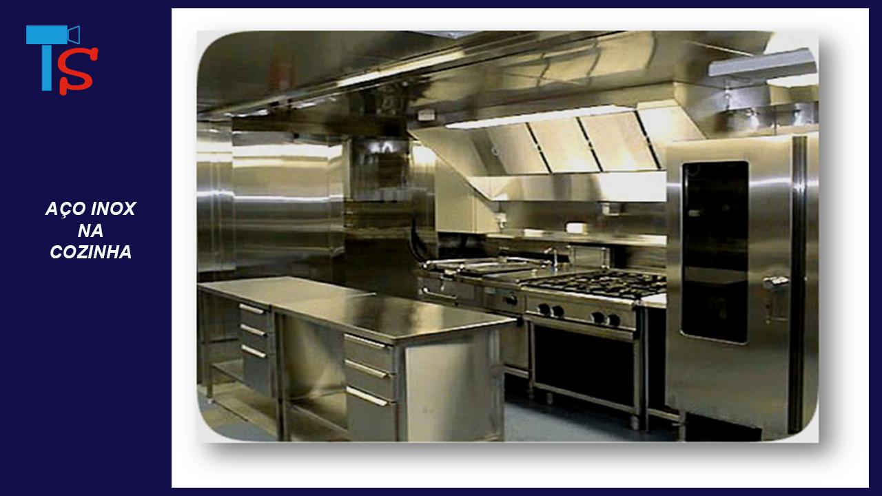 Papel Do A O Inox Na Cozinha Industrial