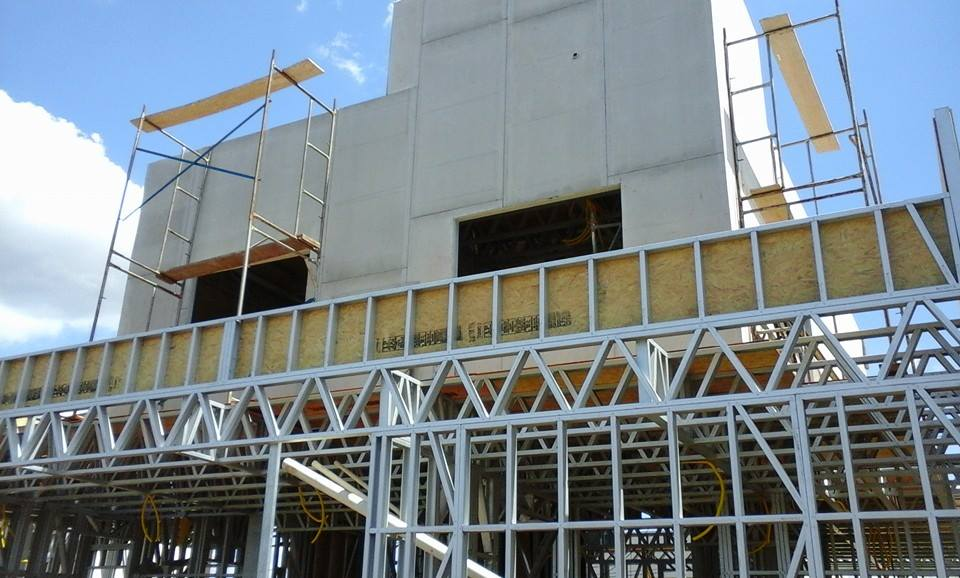 Casa de alto padrão em Light Steel Frame