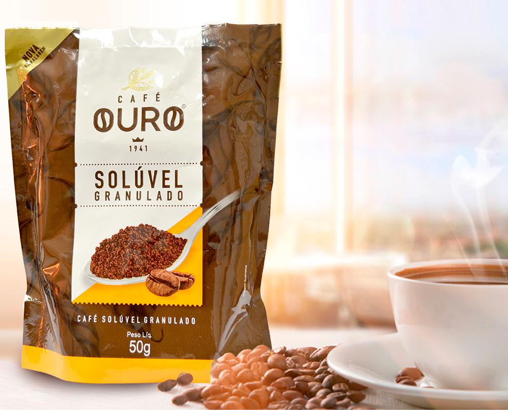Café solúvel 50g e 200g