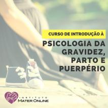 Curso de Introdução à Psicologia da Gravidez, Parto e Puerpério