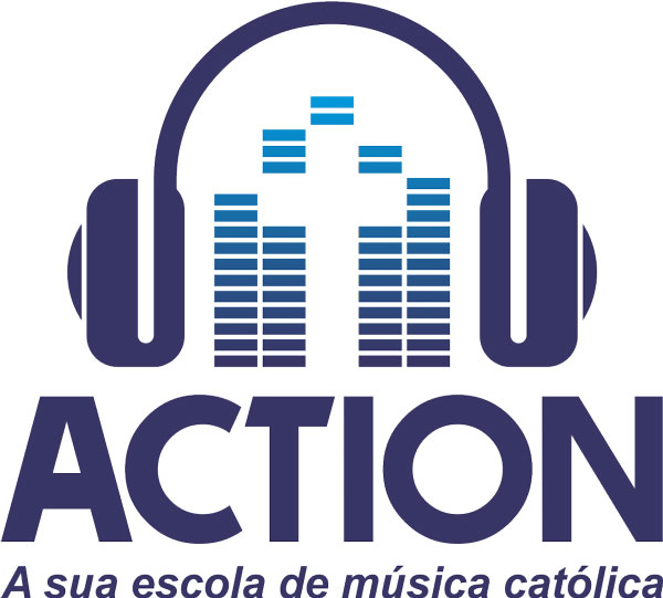 logo da action escola de música católica
