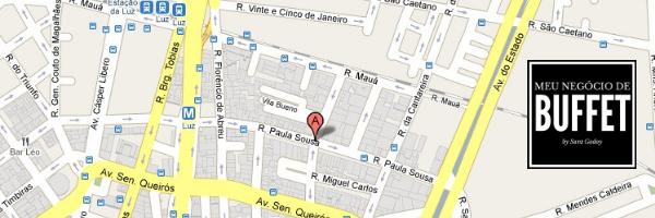 mapa rua paula sousa sao paulo buffet