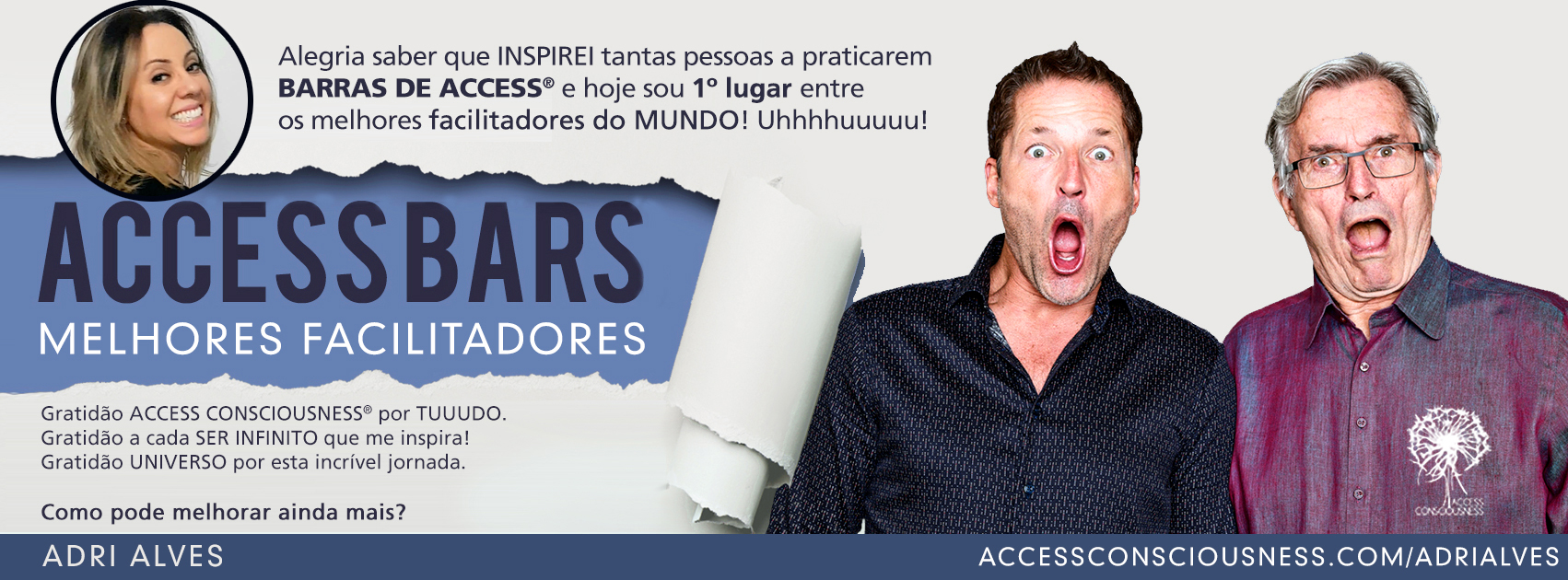 Primeiro Facilitador de Barras do Mundo!