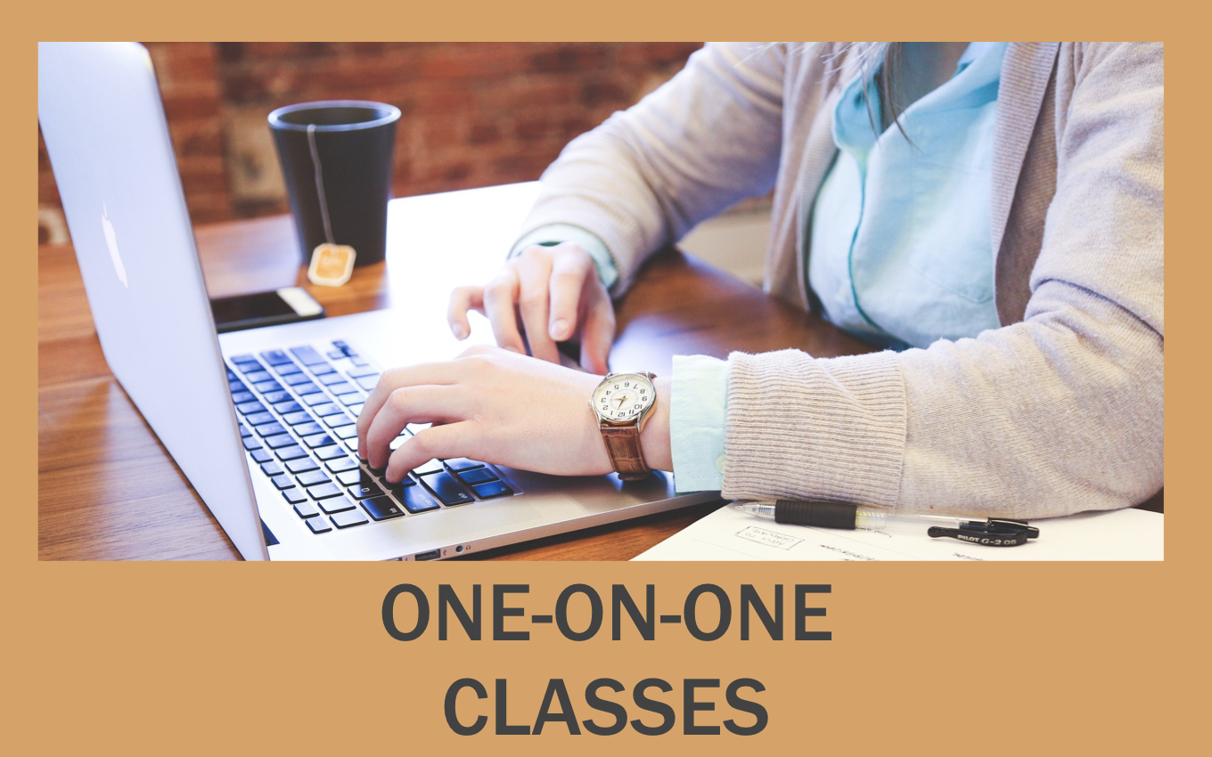 Private classes - one-on-one